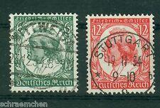 Deutsches Reich 554 - 555 , ** , * , o , 175. Geburtstag Schiller