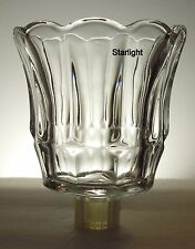 Home Interiors Starlight Clear Votive Cup w/ rubber grommet