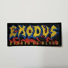 EXODUS BONDED BY BLOOD EMBROIDERED PATCH