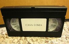 CASA LOMA Toronto castle Sir Henry Mill Pellatt documentary Canada VHS video