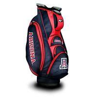 NEW Team Golf NCAA University of Arizona Wildcats Victory Golf Cart Bag