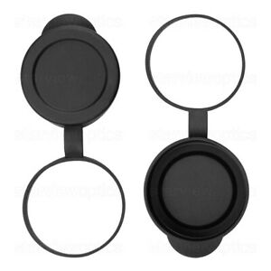 52-53mm Hang Down Rubber Objective Lens End Covers Dust Caps for 42mm Binoculars