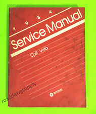 1984 Dodge Plymouth Colt Vista Wagon Service Shop Repair Manual Book