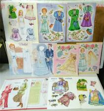 Vintage Paper Doll Lot*Victorian*Gibson*Bride*Cut-outs*Magazine Pages only