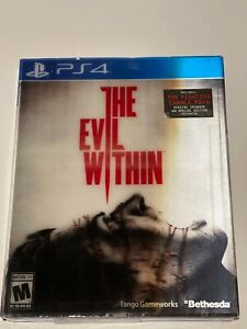 NEW The Evil Within (Sony PlayStation 4, 2014) PS4 with slipcover