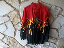 SHIRT LONG SLEEVE,FLAMED