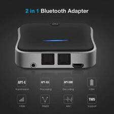 Bluetooth 5.0 Transmitter Receiver Audio Optical Wireless Adapter Hd for Tv Pc G
