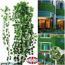 12 Artificial grape Ivy vine faux Leaf Garland Plants Christmas Xmas green Decor
