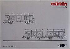 Märklin 46194 wagon Set ´Hochofen-Kalk´ #new original packaging#