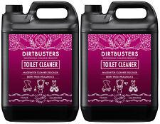 Macerazione Toilet Berry De-Scaler SANIFLO DECALCIFICANTE Cleaner 2x5 LITRI UV