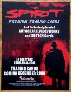 The Spirit trading cards dealers promotional sell sheet 2008 Inkworks