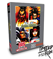 Limited Run #328: Samurai Shodown V Special Classic Edition PS4 SEALED & NEW