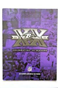 Baltimore Ravens 2015 Official Team Yearbook Celebrating 20 Seasons