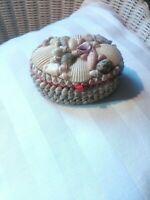 Boite à bijoux en coquillages