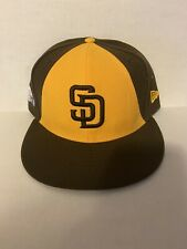 New Era San Diego Padres 2018 Mexico Patch Alt On Field 5950 Hat Size 7 1/2