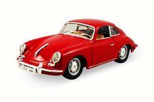 1956 Porsche 356B/C, Red, Road Signature 94220, 1/43 Scale Diecast Model Toy Car