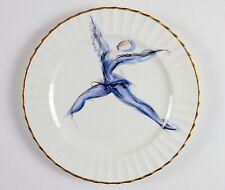 Le Tallec, Paris, France, Signed Vintage Porcelain Plate, Hand Painted Ballerina