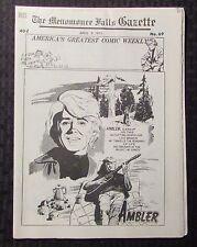 1973 Menomonee Falls Gazette Comic Weekly #69 April 6 Fn+ 6.5 Ambler