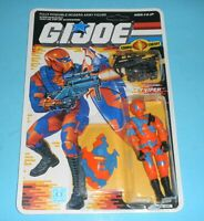 *RECARDED* 1989 GI Joe Alley Viper Figure Complete Sealed *CUSTOM File Card Back
