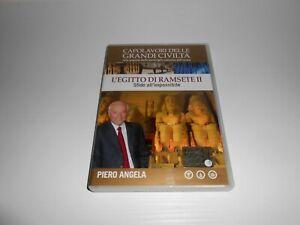 DVD L'EGITTO DI RAMSETE II SFIDE IMPOSSIBILI - PIERO ANGELA