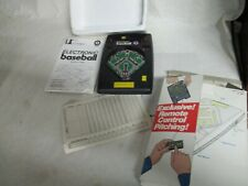 ENTEX Baseball Handheld Electronic Vintage Game 1979 Tested It Works #8001 W/Box
