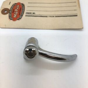 1940-1950 Plymouth, Dodge, DeSoto Chrysler Vent Window Handle,  R , With Button!