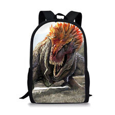 Cool Fierce Dinosaur Boys Girls School Bag Backpack Shoulder Laptop Rucksack Gif