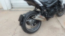 support de plaque ras de roue- MONO BRAS - STREET TRIPLE