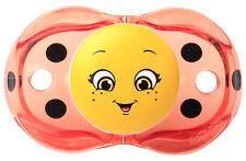 Razbaby Keep-It-Kleen Pacifier Ladybug
