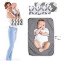 Diaper Changing Mat Baby Travel Home Play Mat Change Baby Care Washable Foldable