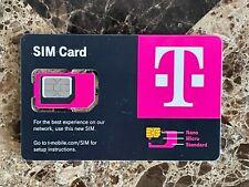 Newest T-Mobile Sim Card R15 5G 4G Lte Tmobile Triple Cut Nano Micro 3 In 1