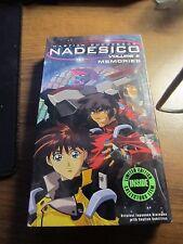 Martian Successor Nadesico - Vol. 8: Memories (VHS, 2001, Subtitled)