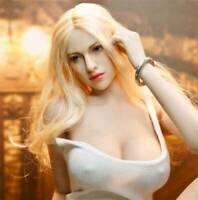US KIMI TOYS 1/6 Female Head Sculpt Blond Hair KT004 F 12'' Phicen Suntan Body