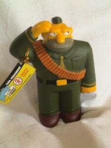 RARE Collectable Simpsons Figure *Series 2* Corp. Punishment