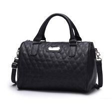 New Fashion Women's Leather Handbag Tote Shoulder Messenger Bag Purse Medium