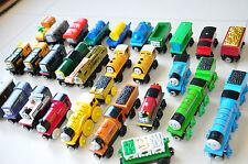BULK 15 Random THOMAS TANK ENGINE Wooden Railway Trains and Carriages
