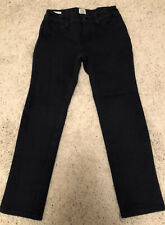 Gap Kids Girls 5 Regular soft navy blue jeans pants casual Cotton Nylon Spandex