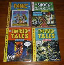 Lot of 4 EC Archives Panic, Two Fisted Tales, Shock Suspense, SEALED, Dark Horse