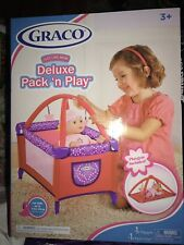 """18"""" Doll Deluxe GRACO PACK N PLAY Pen Activity Mat Play yard fits American Girl"""