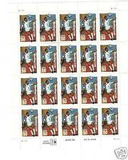 SCOTT#2836 WORLD CUP SOCCER POSTAGE STAMPS SHEET .50 CENT STAMPS