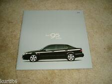 2000 Saab 9-5 sedan SE Aero sales brochure dealer literature
