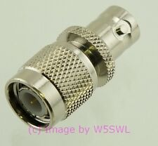 TNC Male to BNC Female Coax Adapter Connector - by W5SWL ®