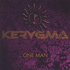 One Man * by Kerygma (CD, Apr-2005, Broken Records) New