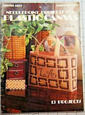 NEEDLEPOINT PROJECTS FOR Plastic Canvas Leaflet by Leisure Arts # 138