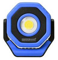 POWERHAND Rechargeable Super Bright COB Pocket Flood Light - 700 Lumens - Blue