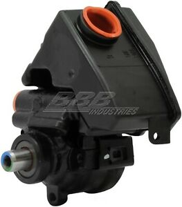 Remanufactured Power Strg Pump With Reservoir  BBB Industries  734-70107