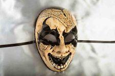 NOTTE OSCURA Volto Joker-Tradizionale buia notte Halloween Maschera Facciale Completa