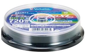 VBR520YP10SV2 Verbatim Blu-ray Disc 10 Spindle 100GB 4X Speed BD-R XL Printable