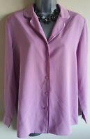 Size 10 Top ALEXON Lilac Purple Excellent Condition Women's