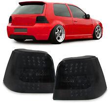 Klarglas LED Rückleuchten schwarz smoke für VW Golf 4 Limousine 97-03